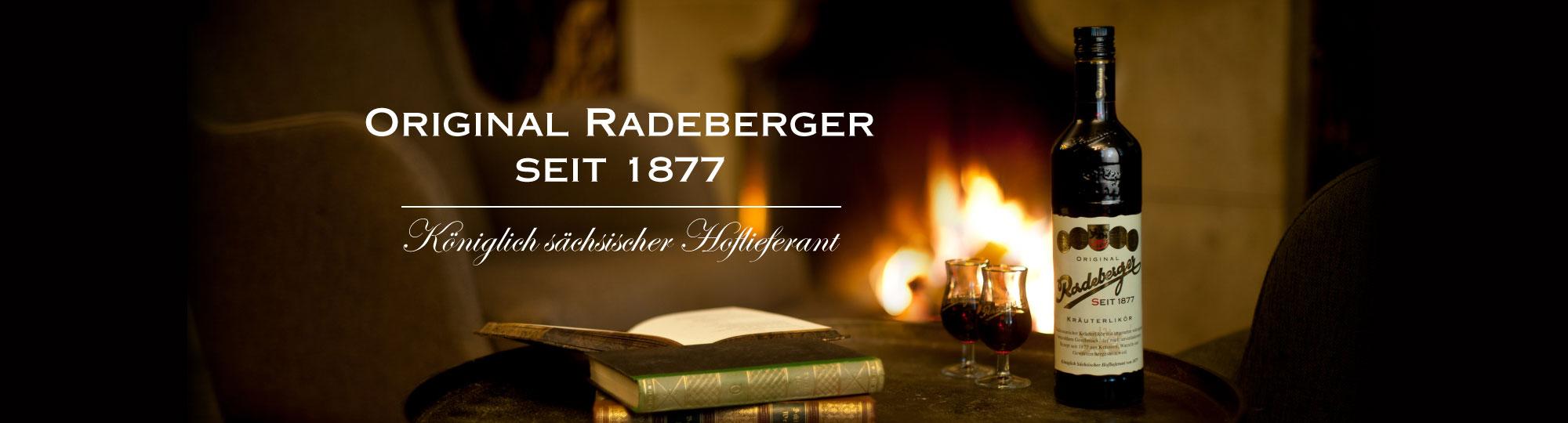 Original Radeberger seit 1877 | Königlich sächsischer Hoflieferant