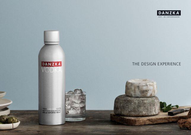 Danzka Vodka the design experience