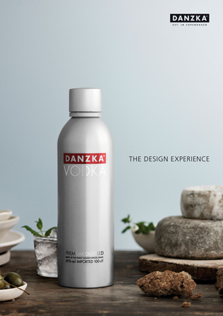 DANZKA VODKA THE DESIGN EXPERIENCE