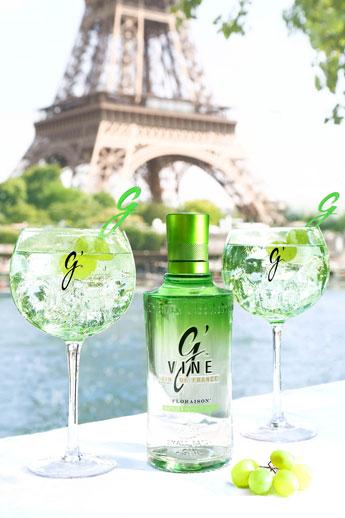 G'Vine Gin in Paris