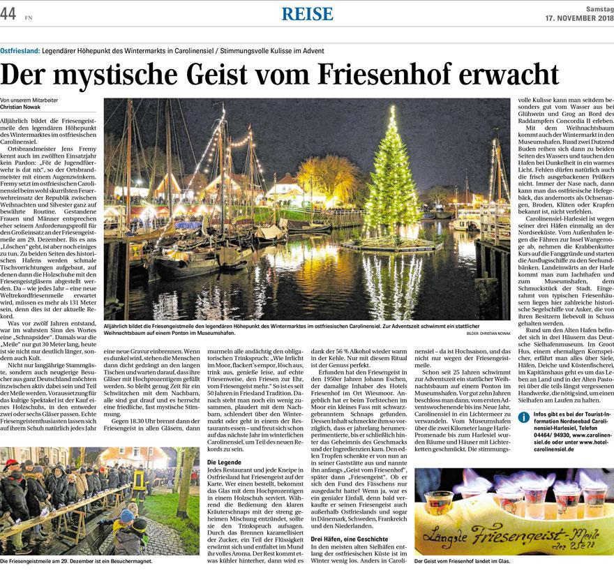 FN Bericht Friesengeistmeile