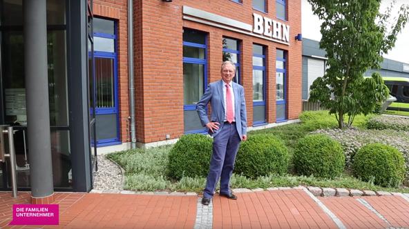 Beitrag von DIE FAMILIENUNTERNEHMER: Zu Besuch bei Rüdiger Behn