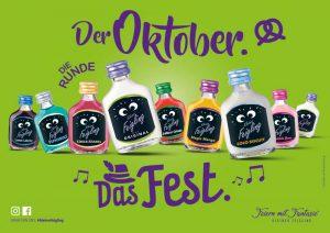 KLEINER FEIGLING: Der Oktober. Das Fest.