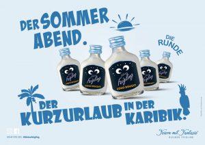KLEINER FEIGLING: Der Sommerabend. Die Runde. Der Kurzurlaub in der Karibik.