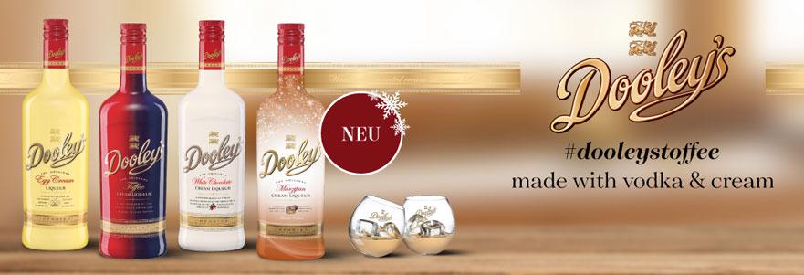 Dooley's Marzipan - neu: Behn startet mit limitierter Winter-Edition von Dooley´s ins Jahresendgeschäft
