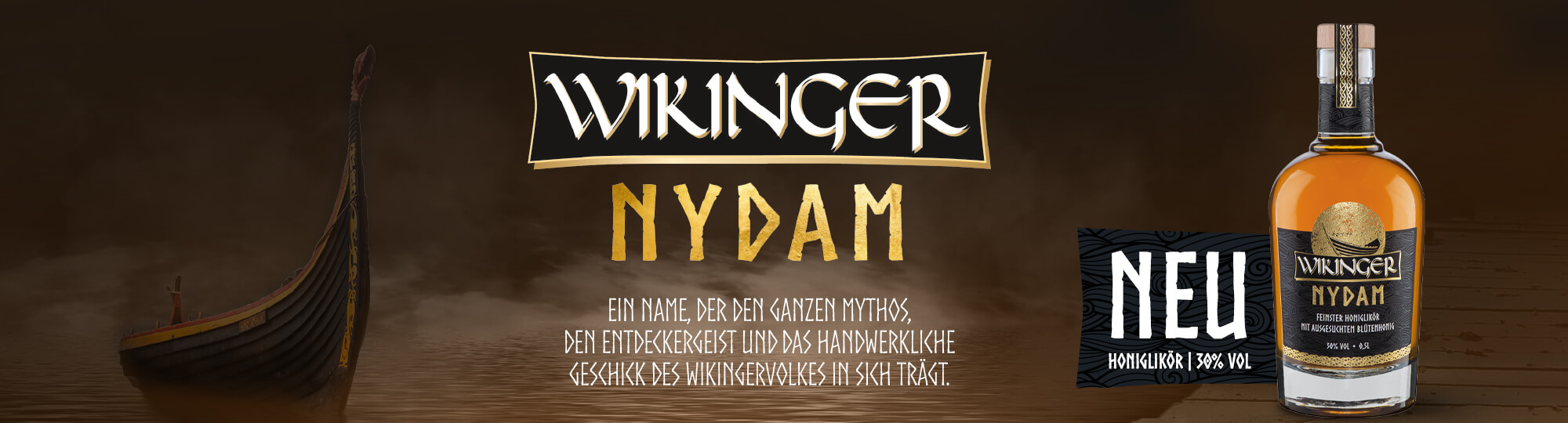 Wikinger Met Honiglikör Nydam